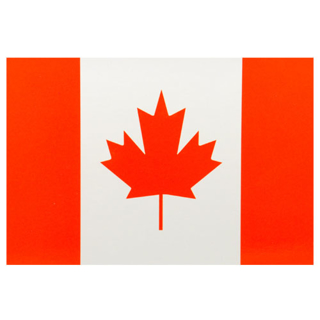 Picture of Postcard Canada Flag