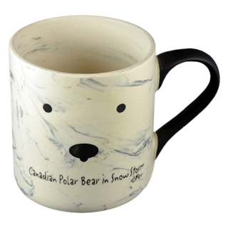 Canadian Souvenirs Gifts Canadian Polar Bear In Snow Storm