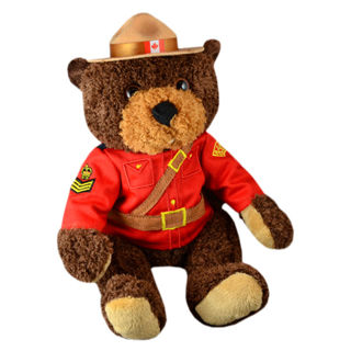 Picture of RCMP Stuffed Animal Bear 11 inch