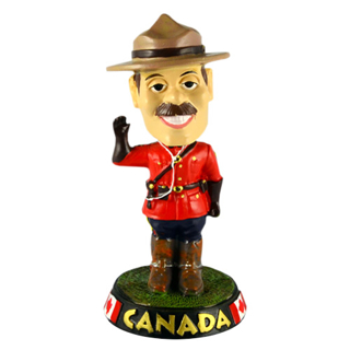 Picture of 摇头晃脑的皇家加拿大骑警
