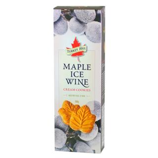 Maple Ice Wine Cream Cookies