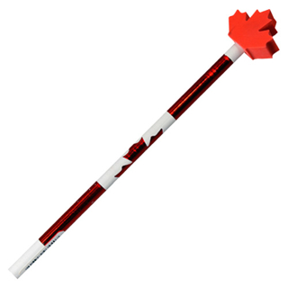 Picture of Free Gift - Red Canada Flag Pencil