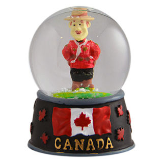 Canada Souvenirs Gifts Snow Globe Royal Canadian Mounted
