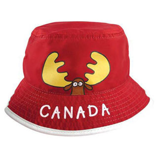 Picture of Kids Bucket Hat - Goofy Moose