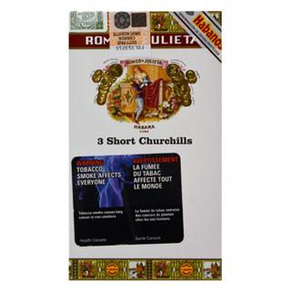 Romeo Y Julieta 3 Short Churchills Canada Souvenirs