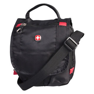 Swiss Gear Mini Boarding Bag Black Canada Souvenirs