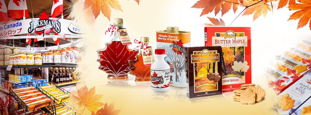 Picture for category Canadian Maple Syrup
