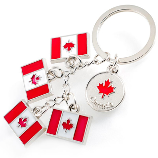 Picture of Keychain Canada Flags