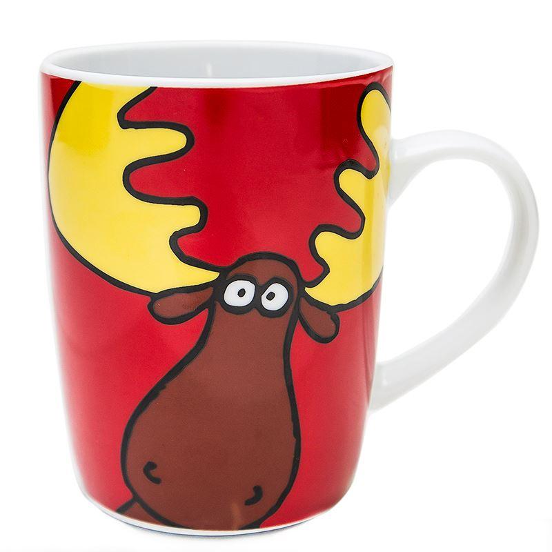 Canadian Souvenirs Gifts Mug Goofy Moose Canada
