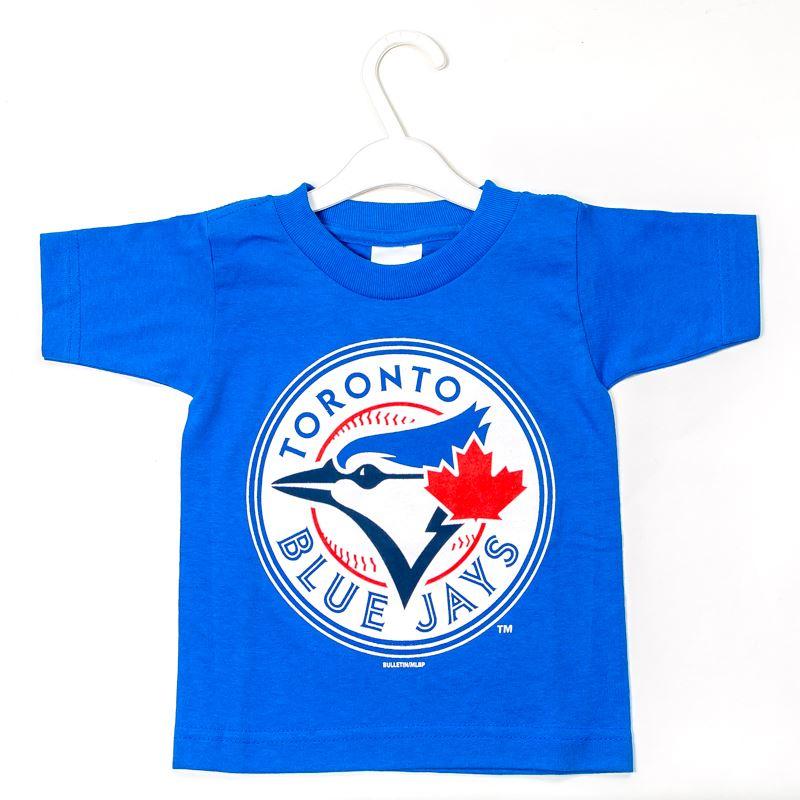 Toronto Blue Jays Basic Logo T Shirt Kid Canada