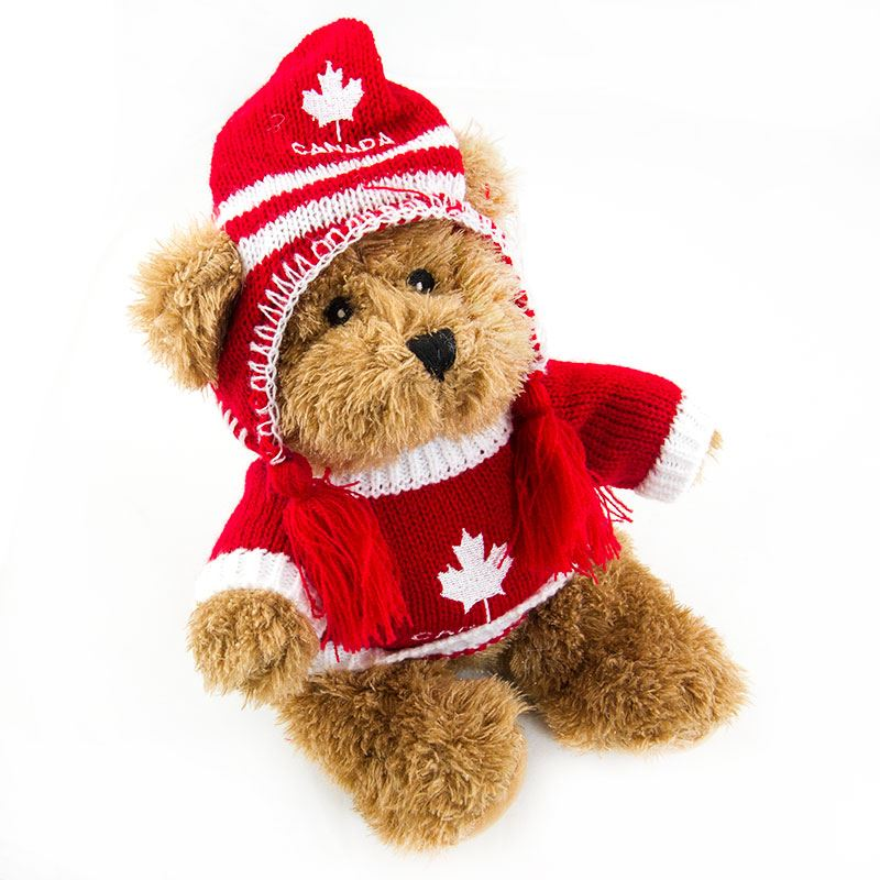 Canada Bear Inge 9 Red Canada Souvenirs Gifts