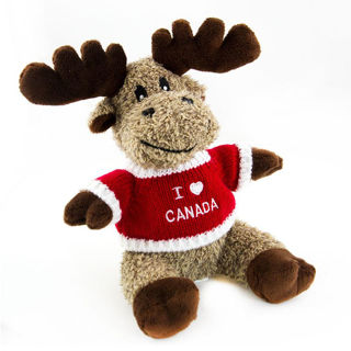Canadian Souvenirs Gifts Canada Stuffed Animal Moose With