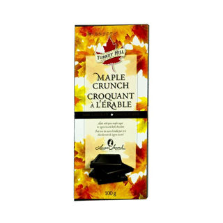 Maple Crunch Dark Chocolate Turkey Hill 100g Canada
