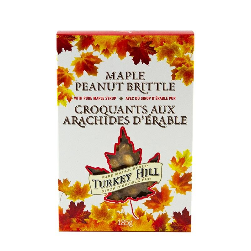 Maple Peanut Brittle 185g Turkey Hill Canada Souvenirs