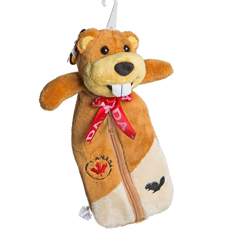 Canada Souvenirs Gifts Canada Beaver Plush Pencil Case