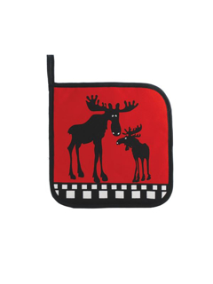 Picture of Moose Pot Holder