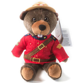 Canadian Souvenirs Gifts Rcmp Stuffed Animal Sergeant