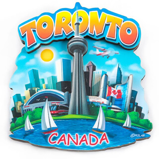 Picture of Free Gift - CN Tower Magnet