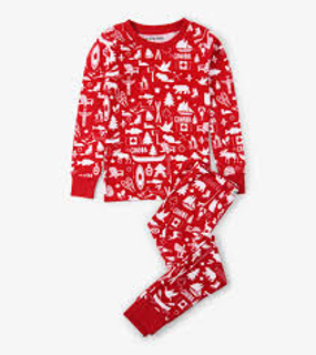 Picture of Oh Canada Kids Pajama Set