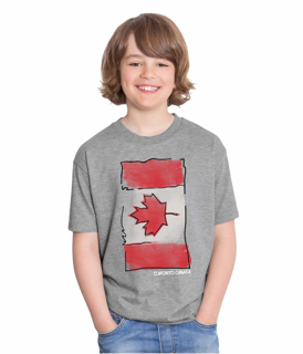 Picture of Kids Canada Flag Tshirt