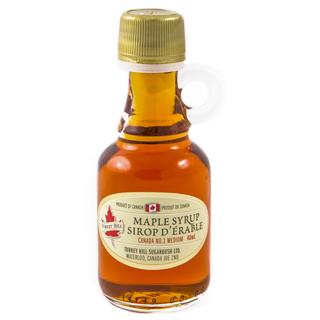 Picture of Turkey Hill Pure Maple Syrup Canada Grade A Amber 40ml x 48 bottles
