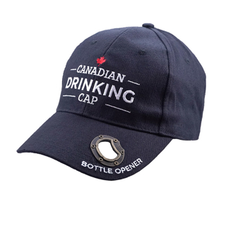 Picture of Canadian Drinking Cap - Black