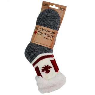 Picture of Canada Flag Socks with Abs Sole - Kid's
