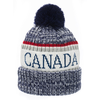 Picture of Canada Multi Color Toque - Blue