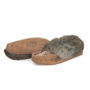 Picture of WOMEN'S - BEADED SLIPPER FUR TRIM, PADDED SOLE - 3 Colors