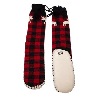 Picture of Moose Plaid - Woman's Mukluk