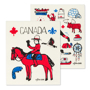 Picture of Canada Icons Dishcloths / Set of 2