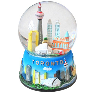 Picture of Toronto City Skyline Snow Globe 9cm