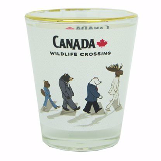 Picture of Shot Glass - Wildlife Crossing