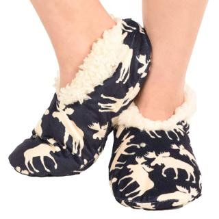 Picture of 温暖舒适室内鞋-经典蓝色驼鹿