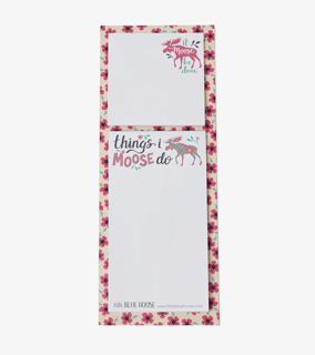 Picture of Sticky Notes & Magnetic List - It Moose Be Done