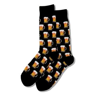 Picture of 经典加拿大甜饼圈图案加厚中筒保暖袜