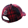 Picture of Canada Cap Red Plaid W/Maple Leaf Patch