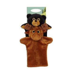 Picture of 加拿大驼鹿毛绒玩具 - 15厘米
