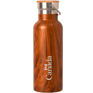 Picture of Stainless Steel Insulated Bottle - Teakwood Canada 17oz